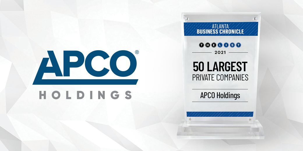 APCO Holdings Named as one of Atlanta Business Chronicle's 50 Largest Private Companies